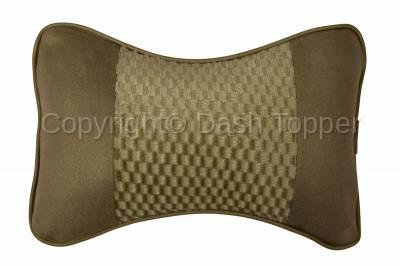 Dashcessories - Headrest Cushions  - Single Headrest Cushion Tan