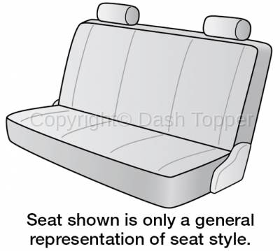 Seat Covers - 2nd Row - 1970 CADILLAC DEVILLE SEAT COVER REAR/MIDDLE