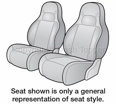 1996 JEEP GRAND CHEROKEE SEAT COVER FRONT BUCKET