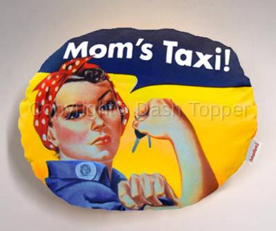 Headeez™ Headrest Pillows - Headeez™ Headrest Pillow Mom's Taxi