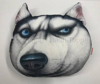 "Headeez™ Headrest Pillows - Headeez™ Headrest Pillow Husky ""Dusty"""