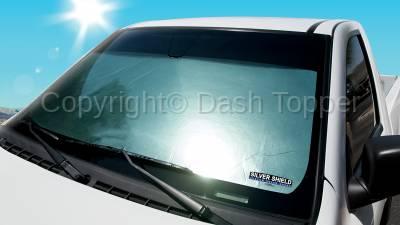 Sun Shades - Silver Shield - 2020 GMC SAVANA 1500 SILVER SHIELD