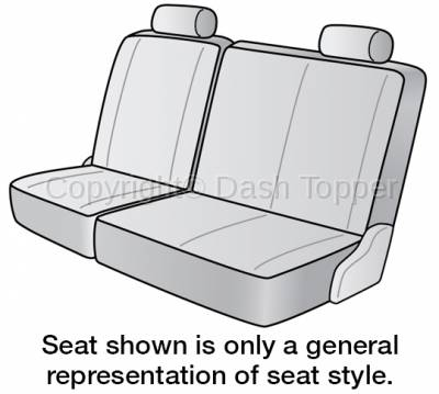 Seat Covers - 2nd Row - 1970 CHEVROLET C20 SUBURBAN SEAT COVER REAR/MIDDLE