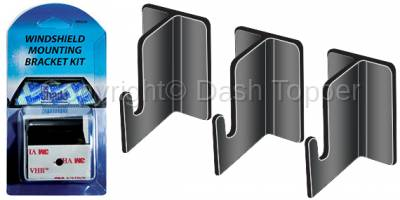 Sun Shades - Mounting Brackets - Replacement Retractable Shade Mounting Brackets ( 3 Pack)