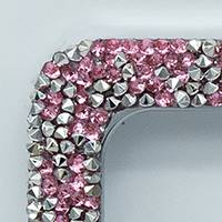 PINK/SILVER CRUSHED